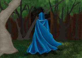 In the forest... WIP by jlpicard1701e