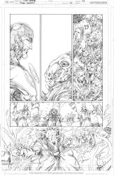 Green Lanterns #42 page 13 PENCIL by vmarion07