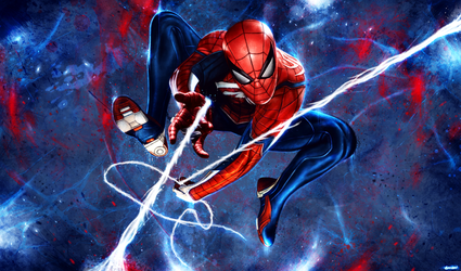 Marvel's Spider-Man by p1xer
