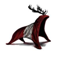 Flag Stag by kerosyas