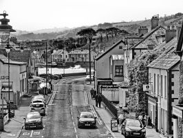 Carnlough monochrome by UdoChristmann
