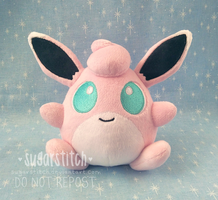 Pokemon: Wigglytuff Mock!Pokedoll