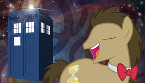 Doctor Whooves Wallpaper by Oomles