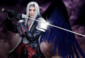 Sephiroth Kingdom Hearts 2 by Etienne-Magique