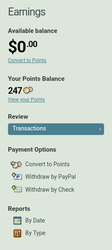 How to convert Points to PayPal by BC-LS