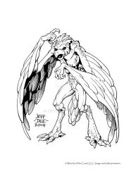 Aarakocra by JeffDee