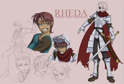 Rheda concept design sheet by vejiicakes