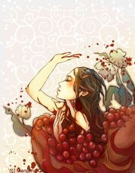 the pomegranate by bluefeathers