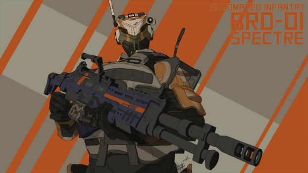 Titanfall - Spectre by magnative