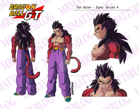 Goten (GT) Super Saiyan 4 by MrMattsBlog