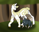 Firepelt and graypaw by emmbug124