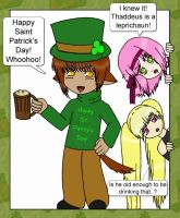 Happy Saint Patricks Day by nikkibuu