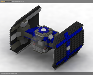 7150 Part 1 - The TIE Fighter by ghost-403