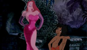 Mowgli meets Jessica Rabbit by Artwra