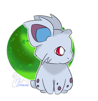 DAY 05 _  Draw your favorite POISON type - NIDORAN by FoMNLiNX