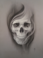 Skull by MRailas-art