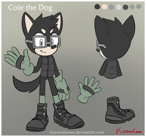 Commission - Cole the Dog by Karneolienne