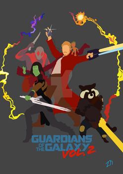 Guardians of the Galaxy poster final by LinweCulnamo