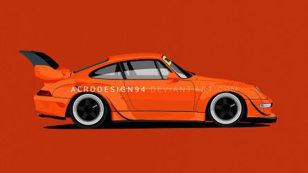 RWB Porsche by AeroDesign94