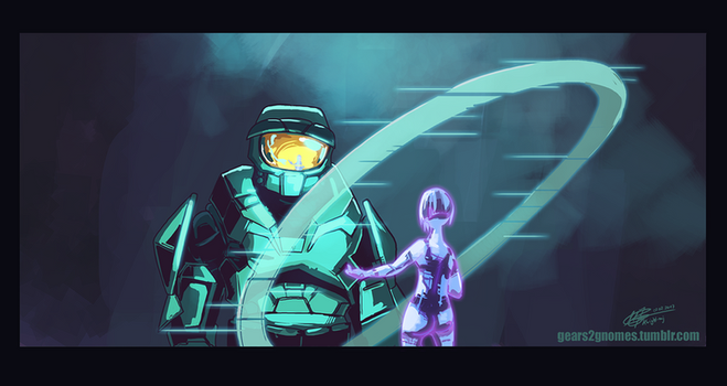 SGDQ2017-Halo by knight-mj
