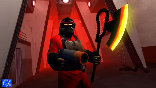 TF2 Freak: A arsonist and his new axe by commanderjonas