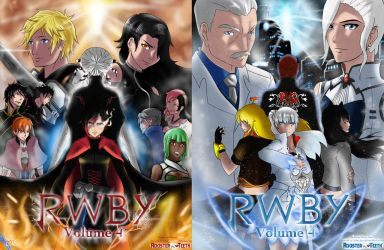 RWBY Volume 4 Poster Series by wsan1