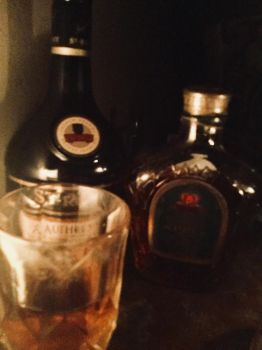 My drinks for the night by Dastyni
