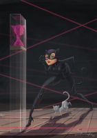 Catwoman on the prowl by Popsaart