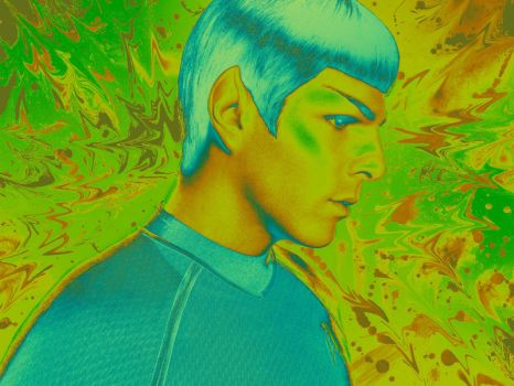 Spock - Greenblooded Hobgoblin by SpooKitty