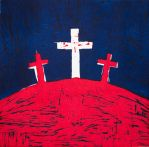 Golgotha by GeorgieDeeArt