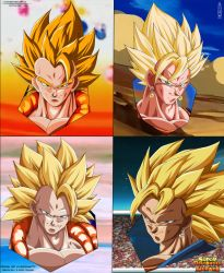 Gogeta And Vegetto Fusions Fases by IITheDarkness94II