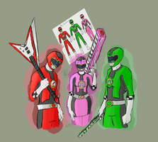 Beat Shift Rangers by PhZN
