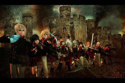 Final Fantasy Type 0 - Marching Forth. by XiaoBai