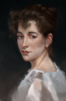 from A.W. Bouguereau by DashaFid