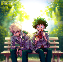 [BNHA] During The Break by Margo-sama