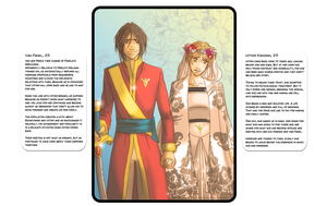 Second Chance Character Summary: Van x Hitomi (2) by QuietDuna