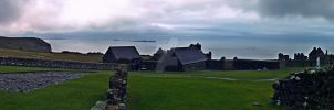 Dunluce Castle by Quadraro