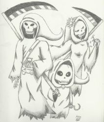 Family of Death by CutyKitty