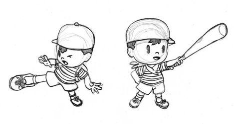ness and ninten by thebigJ94