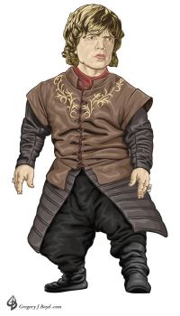 Tyrion Lannister by gritchu