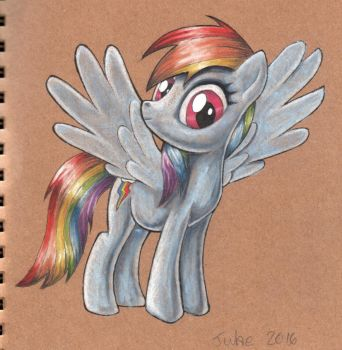 MLP Rainbow Dash 2016 by andpie