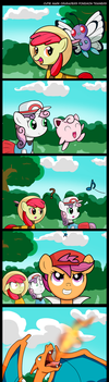 CMC Pokemon Trainers by CawinEMD