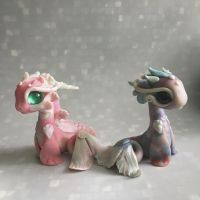 Bitty Water Dragons by BittyBiteyOnes