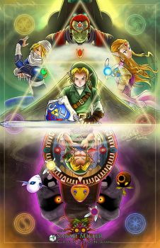 Legend of Zelda Poster by SarahMillerCreations