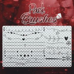 ~~.Pack de Brushes #2 by ISirensDesigns