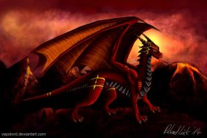 Red Dragon Antares  Redesign by Vapolord