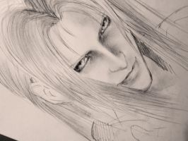 Sephiroth: WIP by SugarContent