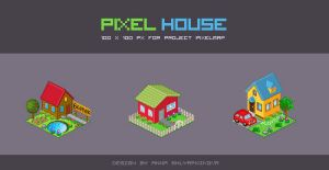 Pixel House by shlyapnikova