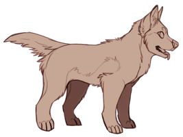 Wolf Pup Lines! [P2U] by SilverPocky