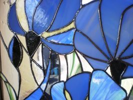 Blue flowers - detail by ioglass